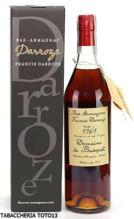 Bottiglia di bas Armagnac Darroze 1961
