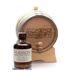 bottiglia di whiskey baby bourbon by hudson e botte