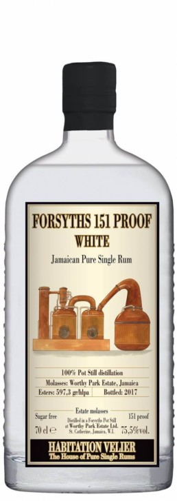 rum habitation velier Forsyths 151 proof