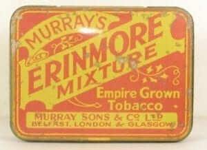 vecchia confezione tabacco da pipa erinmore mixture