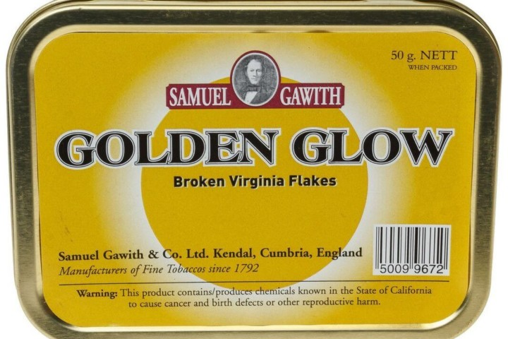 scatola tabacco Samuel Gawith Golden Glow