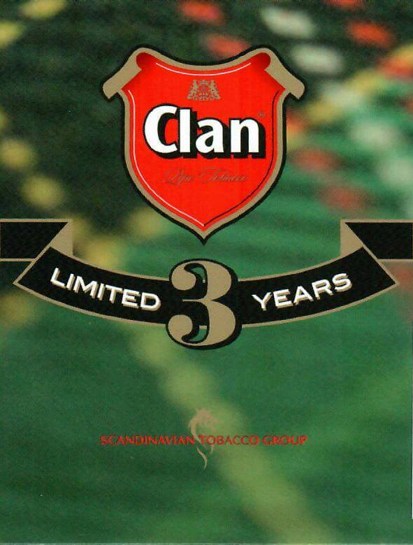 Clan 3 years limited edition logo