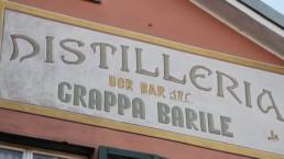 insegna distilleria Luigi Barile